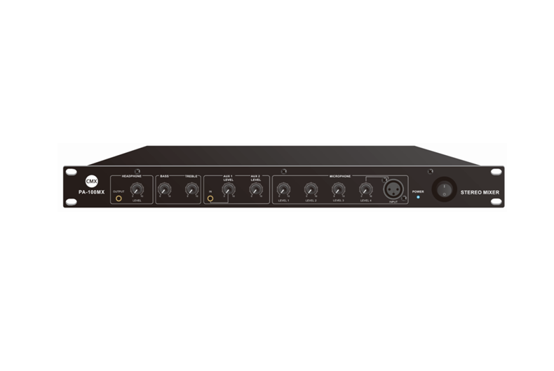 6 Channel Pre-Amplifier or Mixer PA-100MX