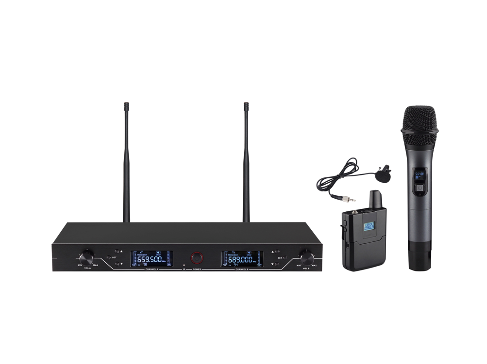 UHF Wireless Microphone System WM-U200C