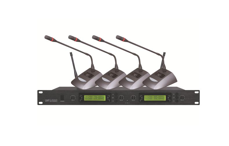 4 Channel Wireless Microphone System WM-U400