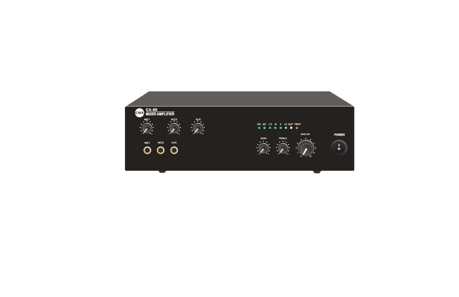 Compact Mixer Amplifier 30W 60W CA-30 CA-60